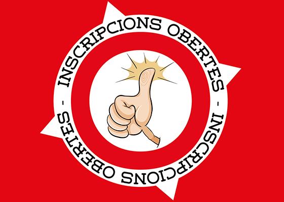 INSCRIPCIONS OBERTES!!!