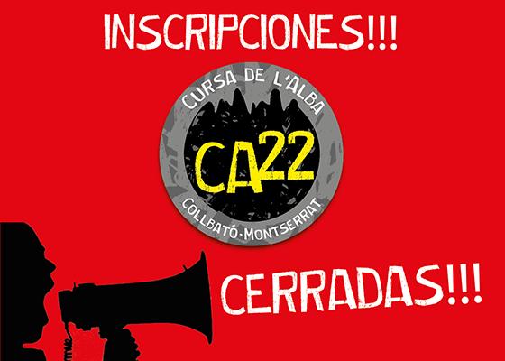 Inscripciones Cerradas!!!