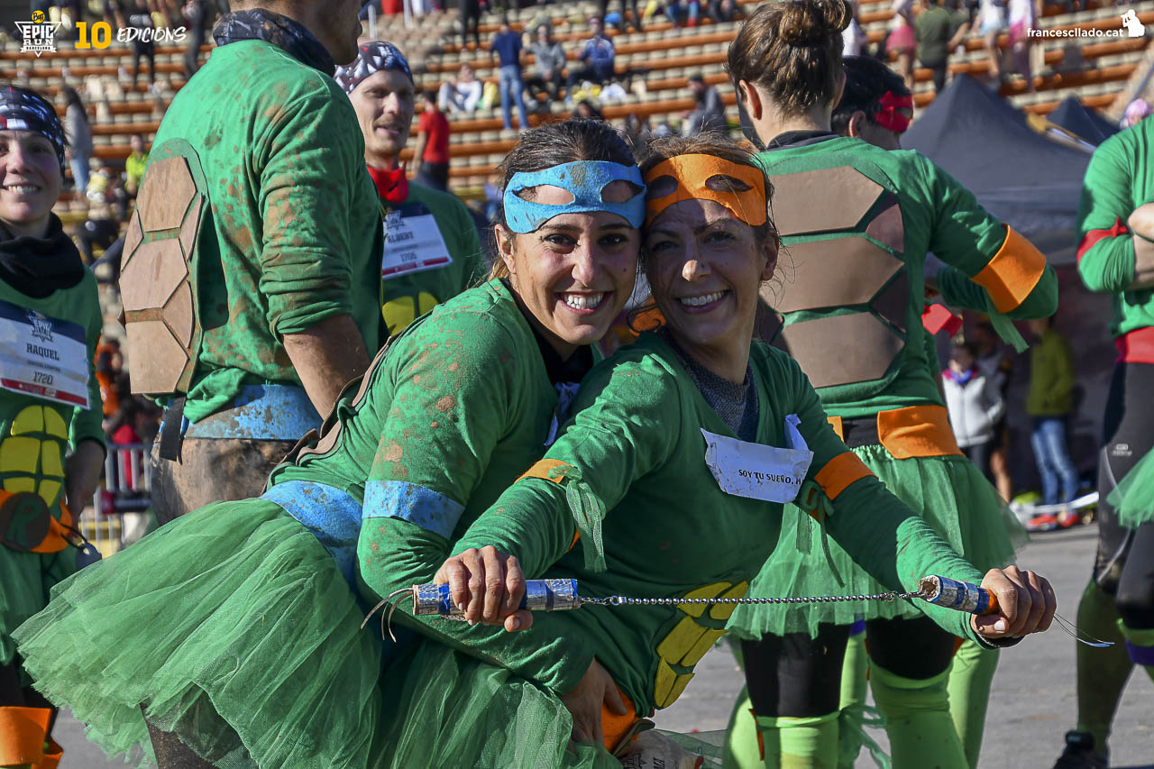 AMBIENTE POST CURSA BUFF EPIC RUN 2017