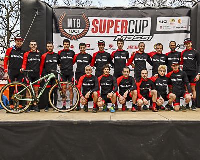 MTB Super Cup Massi. Copa Catalana Internacional BTT. Banyoles. Presentació d'equips