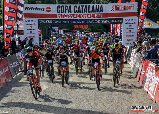 Copa Catalana Internacional BTT. Barcelona. M�ster M30, �lite F, J�nior M, MSub23