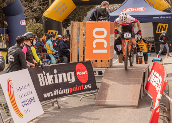 Copa Catalana Internacional BTT Biking Point. Corr� d'Amunt. CRI . 2