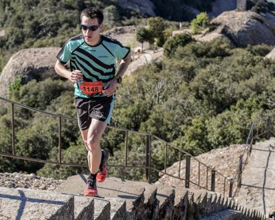 Cursa de l'Alba. Marató de Montserrat. 1