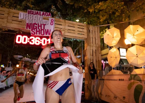 Igualada Urban Running Night Show. Igualada. Cursa 10 qm.