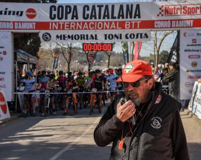 Copa Catalana Internacional BTT 2019. Corró d'Amunt. Elit F, Sots23 F, Júniors M i Màster 30 M