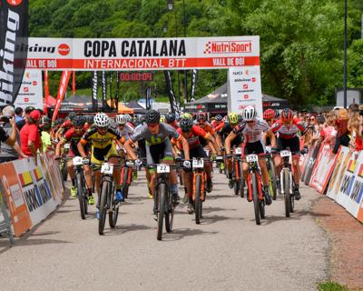 Copa Catalana Internacional BTT. Vall de Bo�. Elite M i Sub-23 M