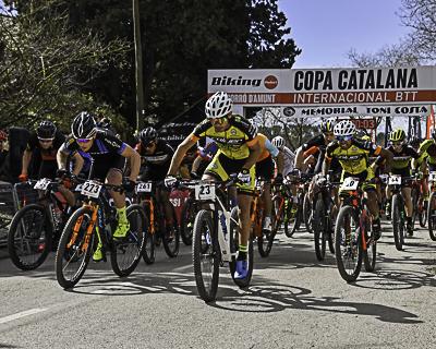 Copa Catalana Internacional BTT. Corr� d'Amunt. Elit i Sost23M