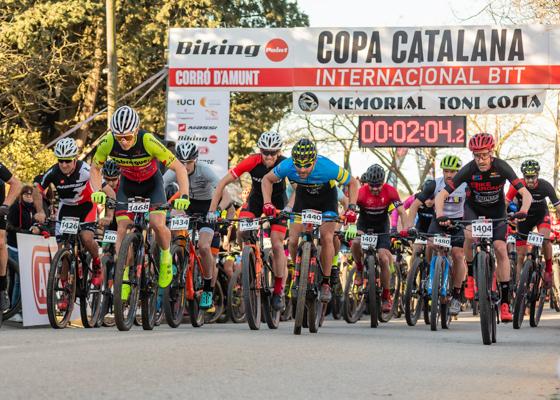 Copa Catalana Internacional BTT. Corró d'Amunt. Cadets M/F, Júnior F, Màster 30/40 F i Màster 40/50/60 M