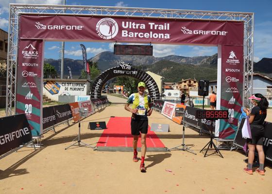 Ultra Trail Barcelona. Sant Lloren� de Morunys. Arribades 2
