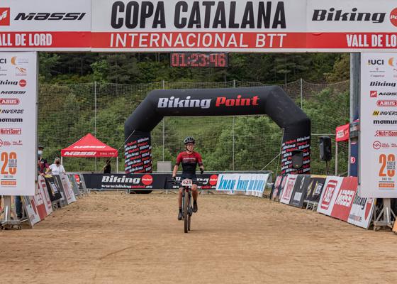 Copa Catalana Internacional BTT Biking Point. Vall de Lord. Elit F, Sots23 F, Júniors M i Màster 30 M