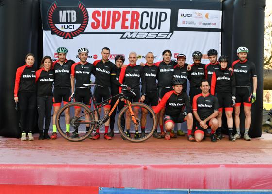 Copa Catalana Internacional BTT. Supercup Massi. Banyoles. Presentació d'Equips