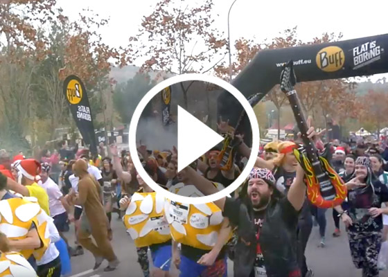VIDEO BUFF® EPIC RUN. BARCELONA 2015