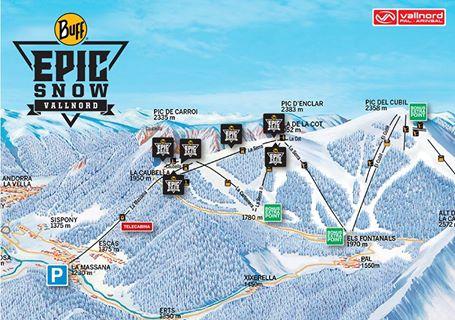 Tot llest a Vallnord per la Buff® Epic Snow, la gran gimcana hivernal