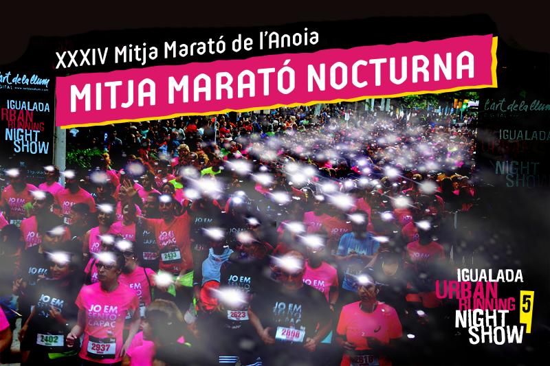 Més novetats de la Igualada Urban Running Night Show 2016