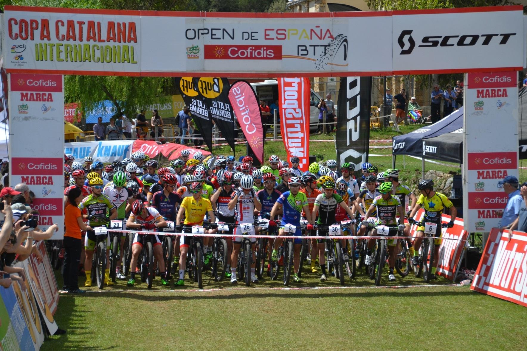 La Copa Catalana Internacional de BTT Biking Point pasa el ecuador del campeonato en la Vall de Lord de categor�a UCI C2 y Open de Espa�a XCO Cofidis