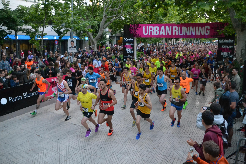 La Igualada Urban Running Night Show creix amb la mitja marató de l'Anoia i omplirà els carrers d'Igualada