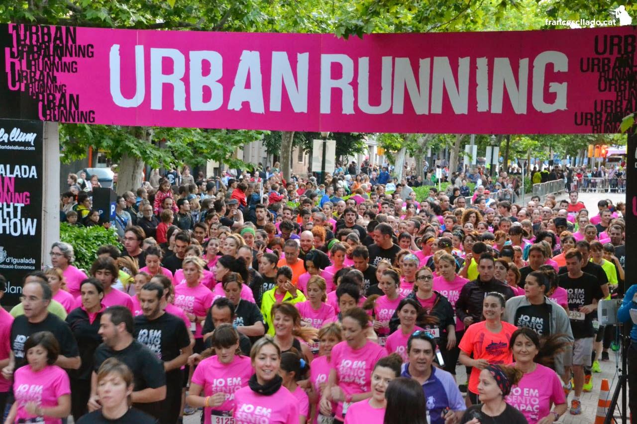 Inscripcions obertes a la Igualada Urban Running Night Show