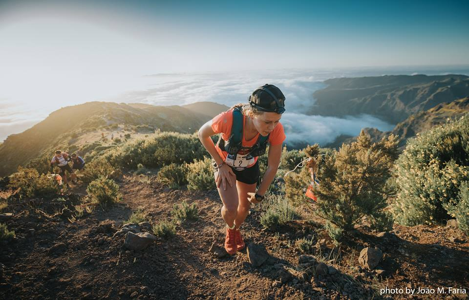 Victoria de Jon Albon y Hillary Allen en la Ultra SkyMarathon� Madeira de las Ultra Series