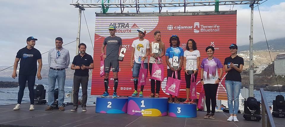 Yeray Dur�n y Christelle Bard se imponen en la Cajamar Tenerife Bluetrail de las Ultra Series
