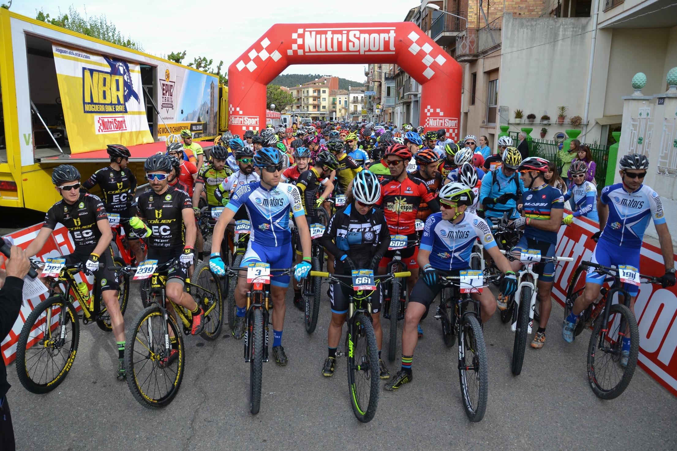 Israel Núñez i Mar Franco líders de la Nutrisport Noguera Bike Race després de la primera etapa