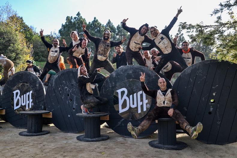 La fiesta de la BUFF� EPIC RUN se consolida otro a�o m�s con casi 3.500 personas