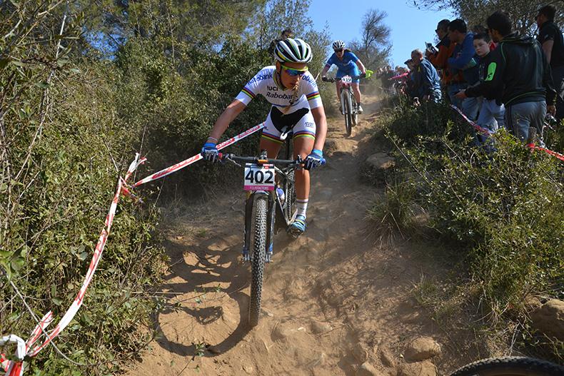 La campeona del mundo de 2015 en Vallnord, Pauline Ferrand-Pr�vot, confirma su asistencia en la�CCI Biking Point de Banyoles��