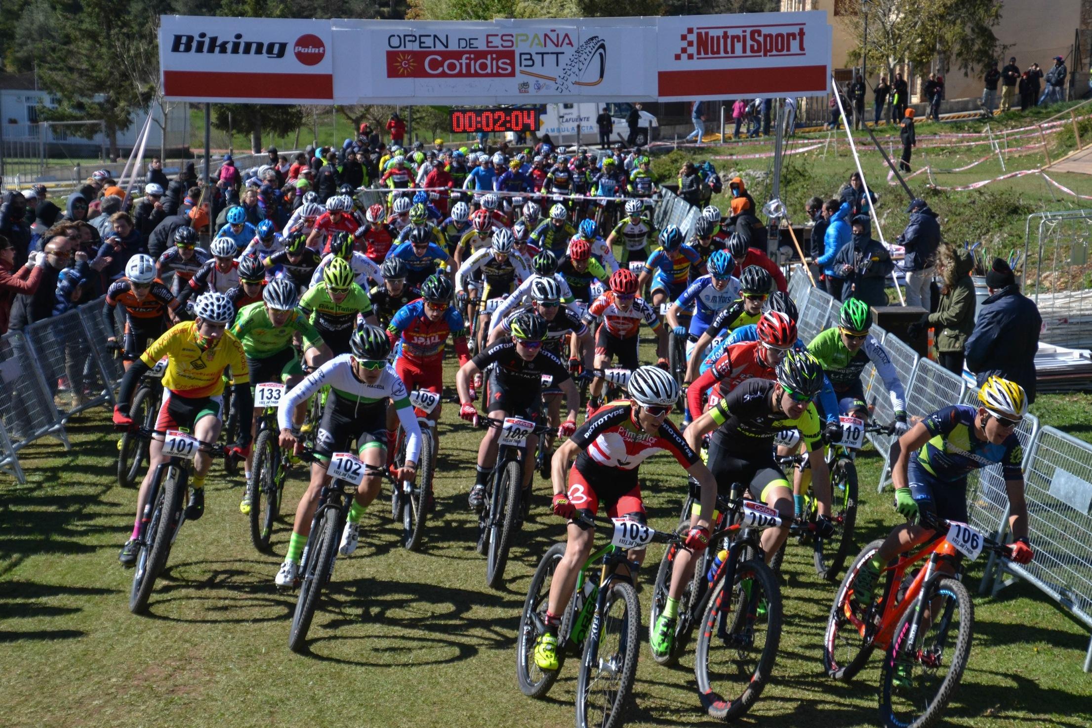 David Valero y Rocío Martín vencen con autoridad en la Copa Catalana Internacional de BTT Biking Point de la Vall de Lord