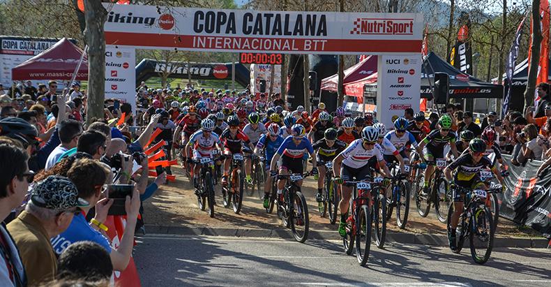 Victor Koretzky i Pauline Ferrand-Prévot guanyen una multitudinària Copa Catalana Internacional Btt Biking Point de Banyoles
