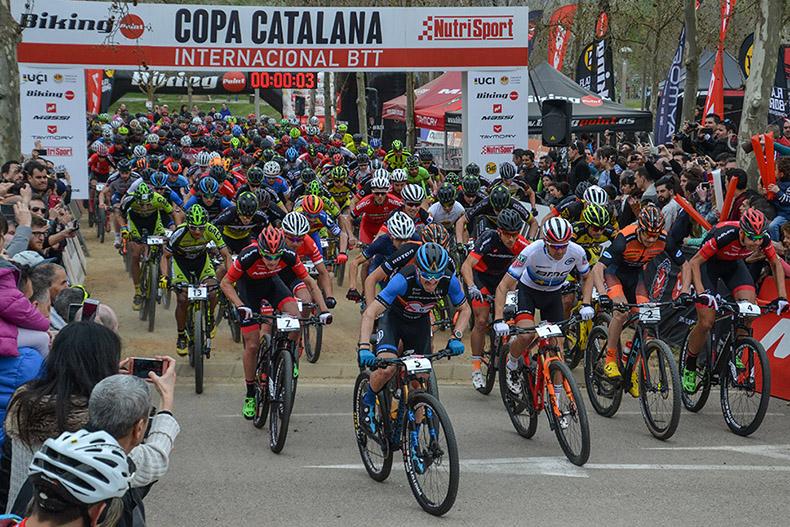 La Copa Catalana Internacional de BTT Biking Point 2018 empezará en Banyoles el 24-25 de febrero