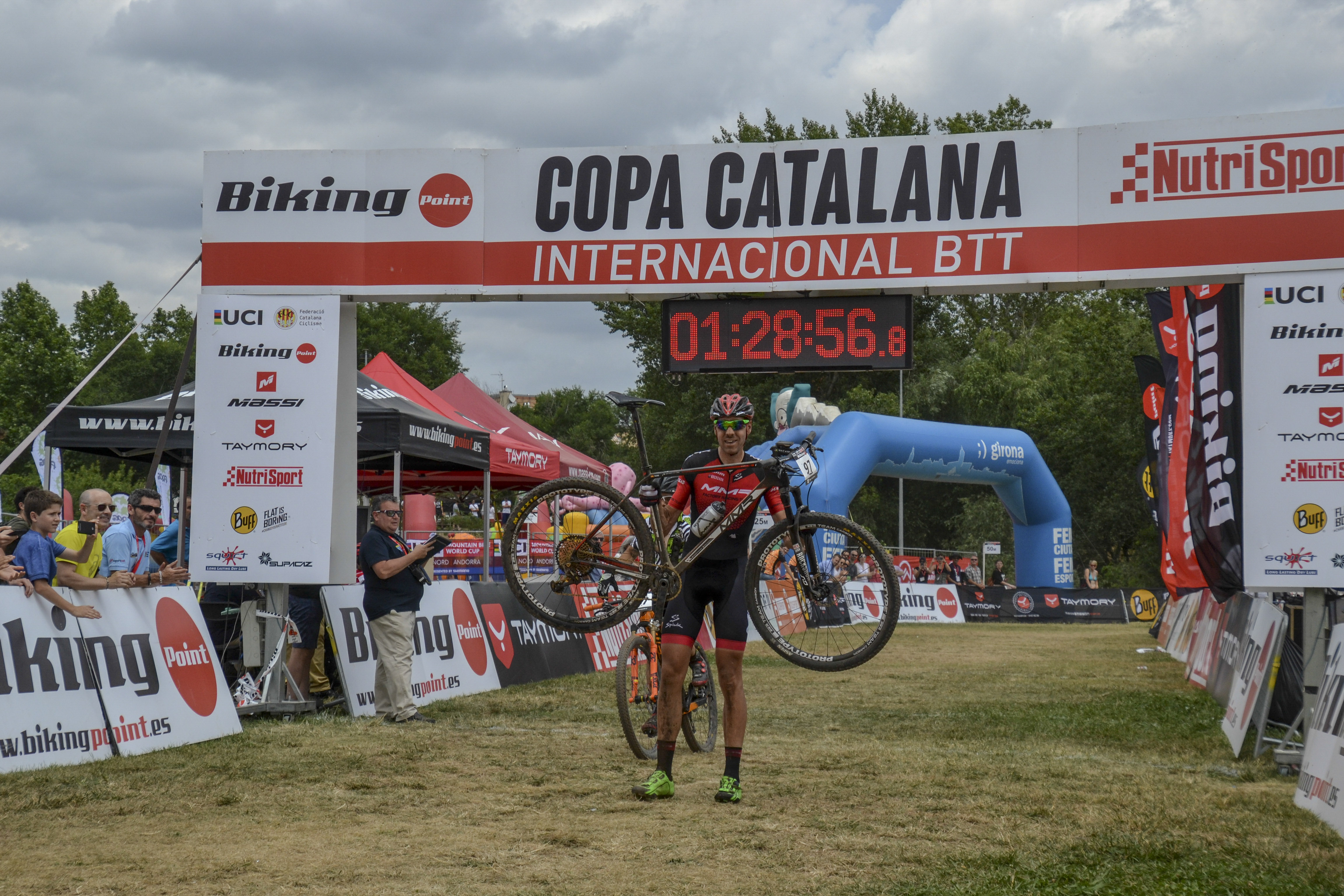 David Valero reafirma el seu gran moment conquistant la Copa Catalana Internacional BTT Biking Point de Sea Otter Europe