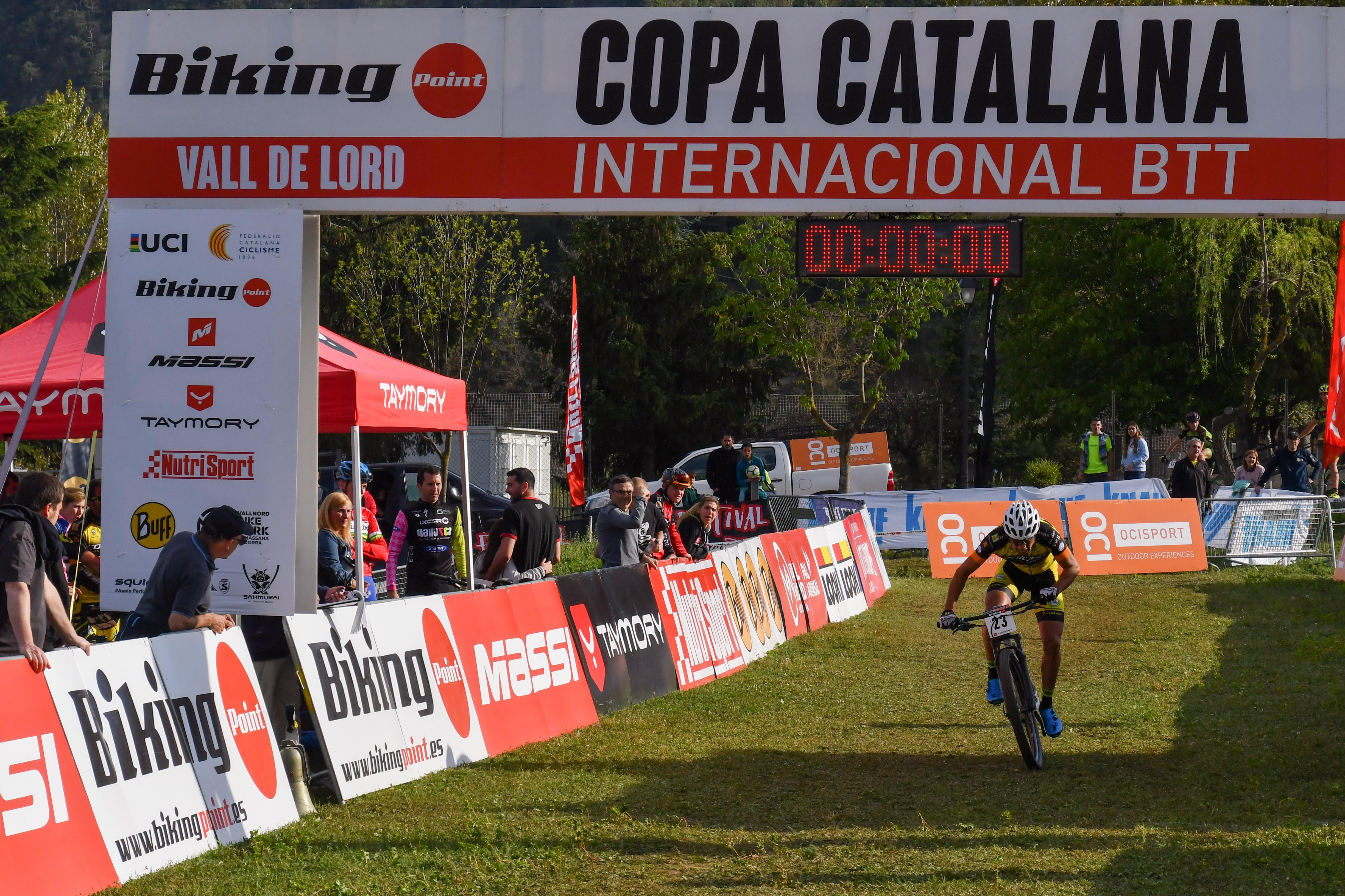 Dario Gasco y Magda Duran se llevan la primera crono de la Copa Catalana Internacional Biking Point 2018