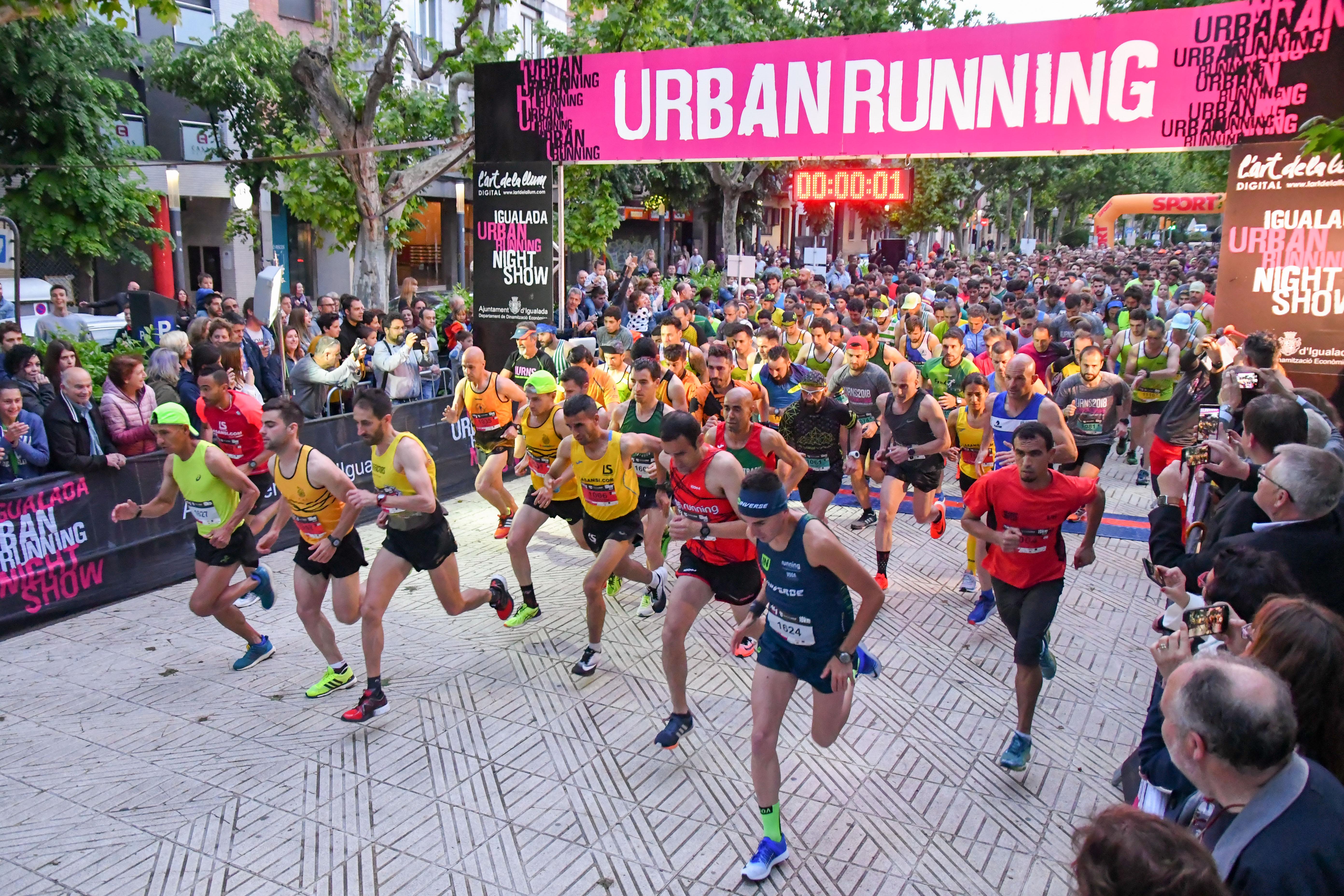 Igualada celebra la s�ptima edici�n m�s �pica de la Igualada Urban Running