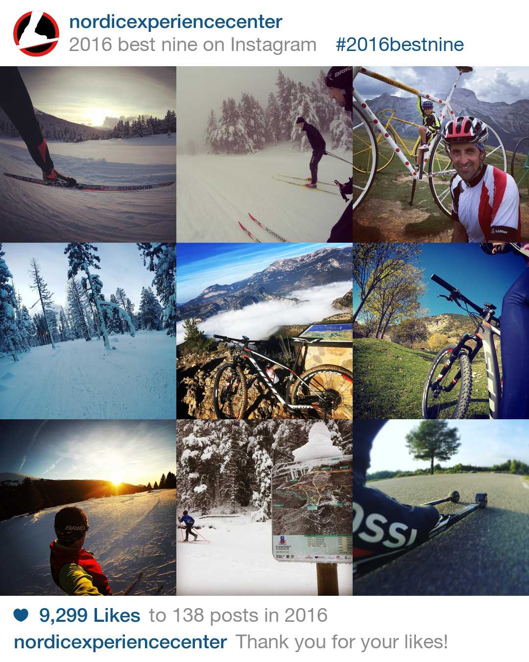 Un any més, Rossignol i Tandem amb el Nordic Experience