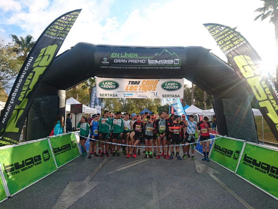 Los Tajos Skyrace: próxima parada de Copa de España FEDME Gran Premio Tuga con récord de participación