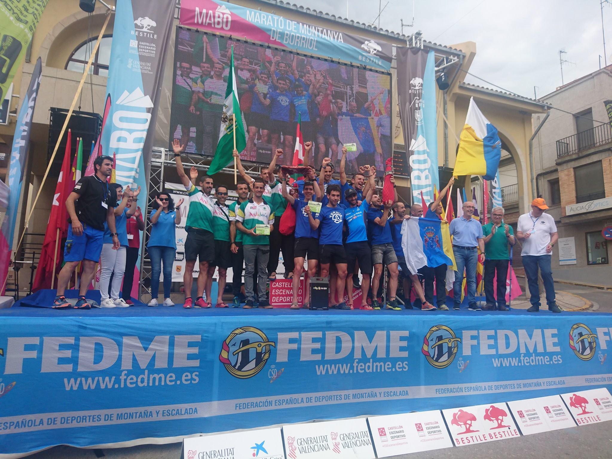 Aritz Egea y Sandra Sevillano campeones de España de Carreras por Montaña en Línea FEDME - Gran Premio Tuga