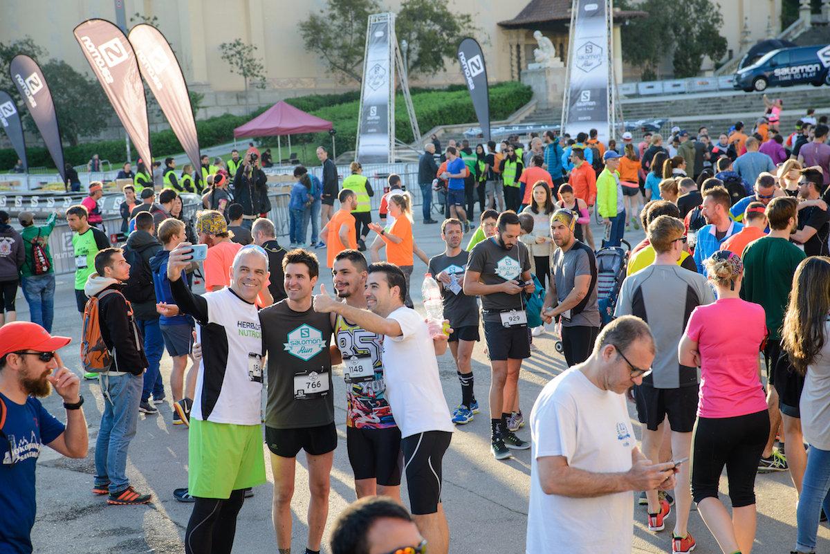 El Estadi Ol�mpic, el Poble Espanyol y Montju�c, protagonistas de la Salomon Run 2018