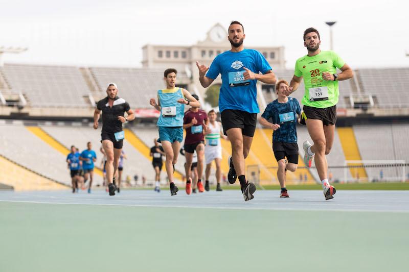 La Salomon Run repite �xito con m�s de 2.800 participantes en Montju�c