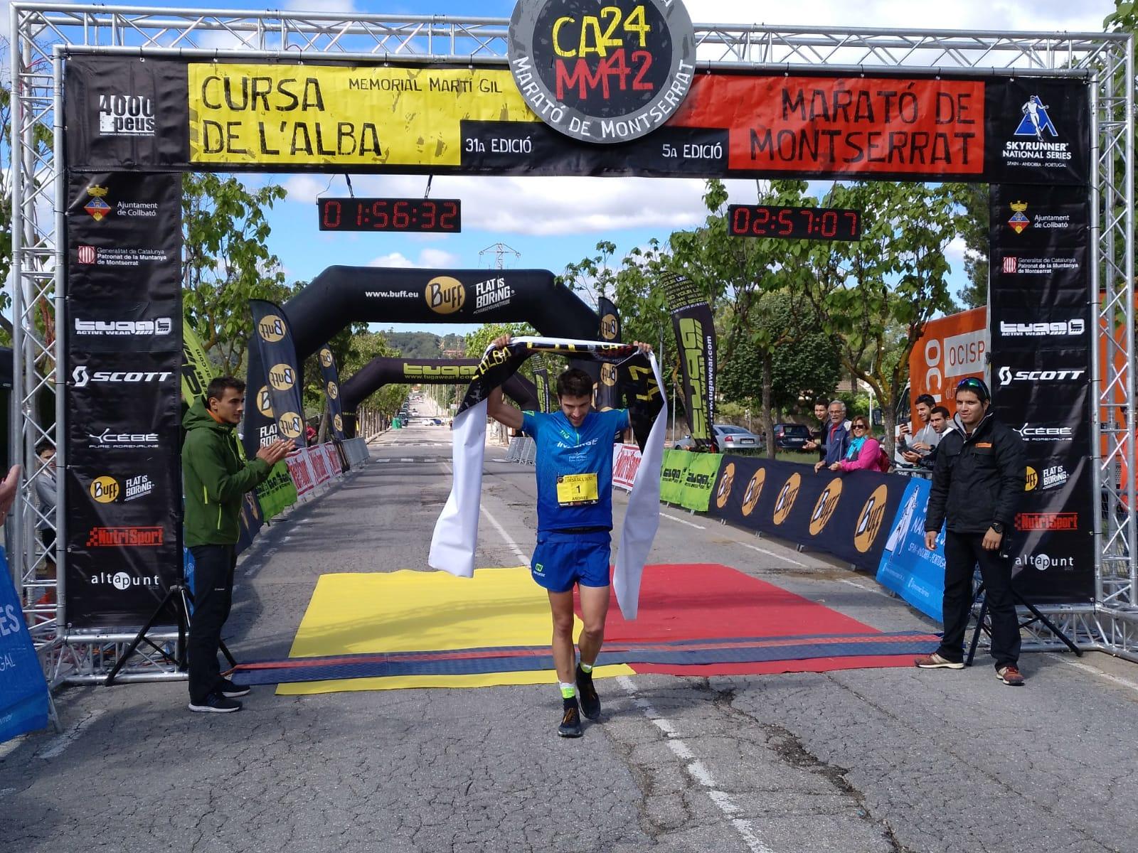 ANDREU SIM�N I SHEILA AVIL�S CAMPIONS DE LA 31� CURSA DEL ALBA
