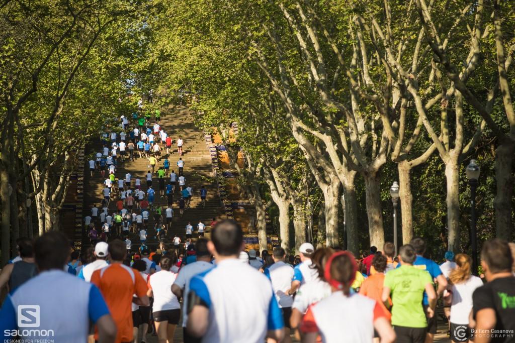 Compte enrere per a una Salomon Run de rècord amb més de 2.000 corredors