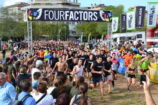 La Four Factors hace vibrar a más de mil corredores en el festival Esport i Natura de Igualada