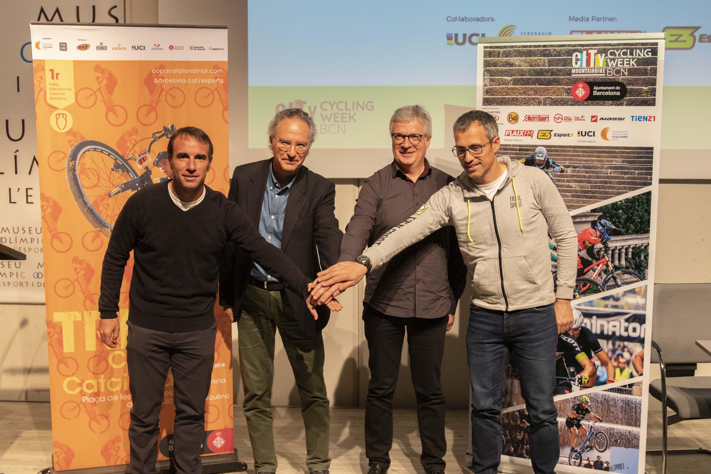 Es presenta oficialment el Cycling Week Barcelona del dissabte 23 de març, a Montjuïc