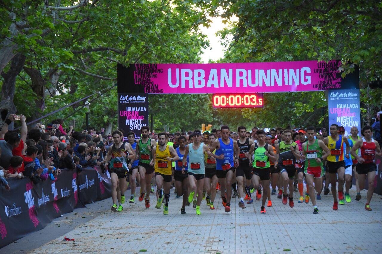 Igualada viu la gran festa de l'esport i el comerç amb la cinquena edició de l'Igualada Urban Running Night Show