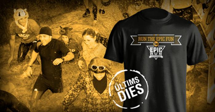 Exhaurides les 3.000 samarretes per als més ràpids en inscriure a la Buff Epic Run