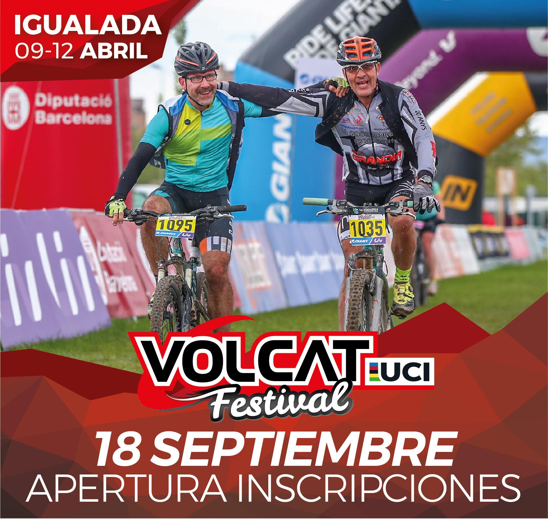 VOLCAT FESTIVAL 2020 ABRE INSCRIPCIONES EL 18 DE SEPTIEMBRE