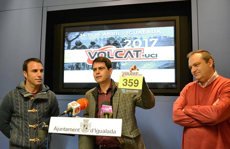 La VolCAT 2017 es presenta en roda de premsaa l'Ajuntament d'Igualada