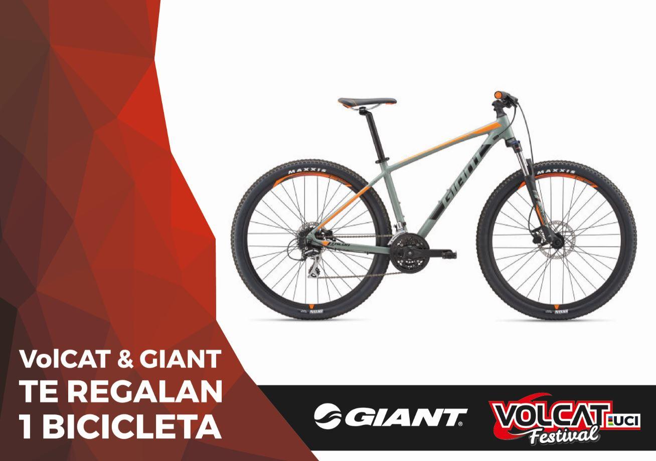 Giant sortea una bicicleta entre  los inscritos a la VolCAT 2019