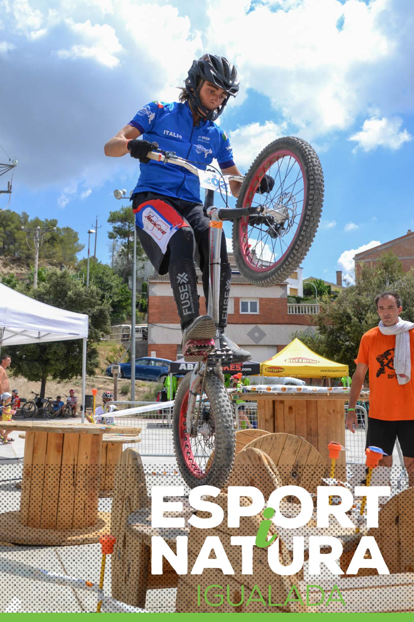 L'Esport i Natura acollirà el Campionat de Catalunya de Biketrial