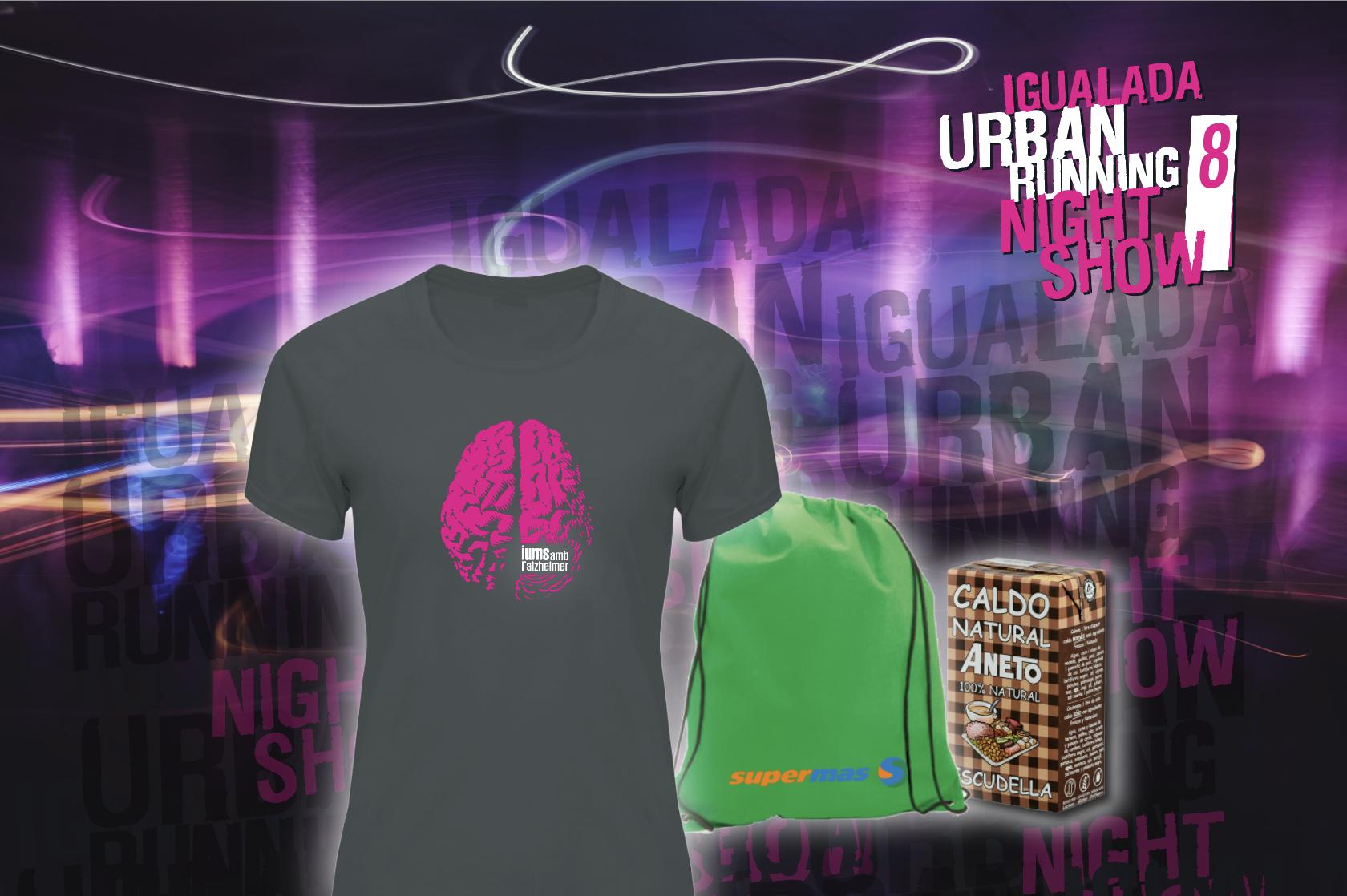 La 8ª edició de la Igualada Urban Running Night Show arriba el 21 de setembre amb més novetats que mai