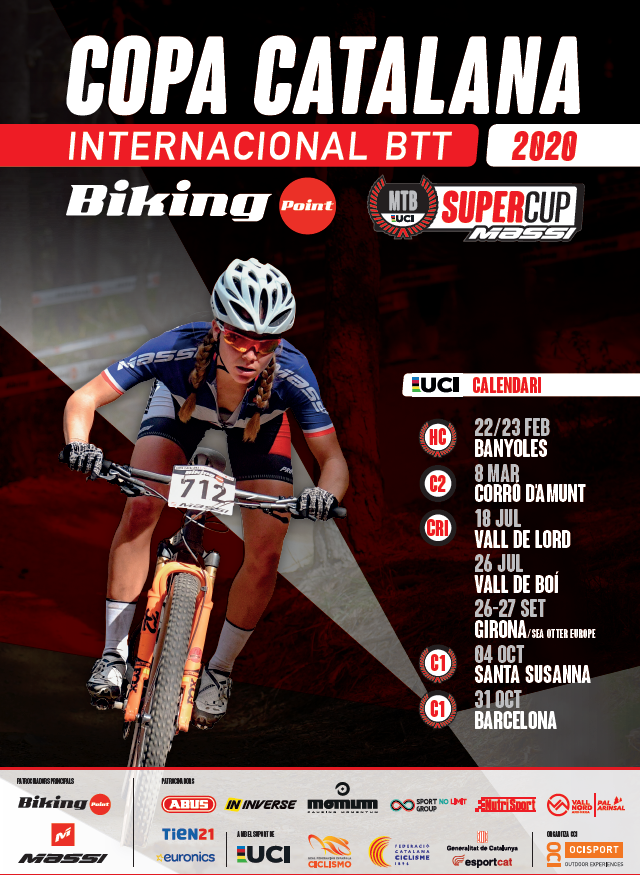 LA COPA CATALANA INTERNACIONAL BIKING POINT I LA SUPER CUP MASSI REVELEN EL CALENDARI FINAL DEL 2020