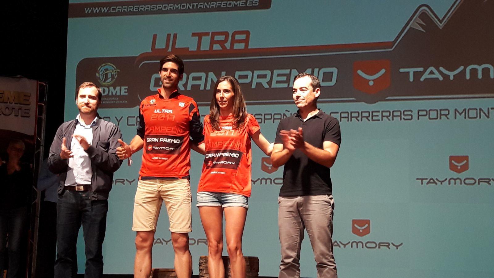 Gerard Morales i Gemma Arenas es proclamen Campions d'Espanya de Curses per Muntanya Ultra - GP Compressport® a l'Ultra Montseny Compressport®